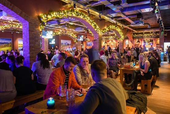 Burning Night Group's new entertainment complex in Birmingham draws in the crowd.
