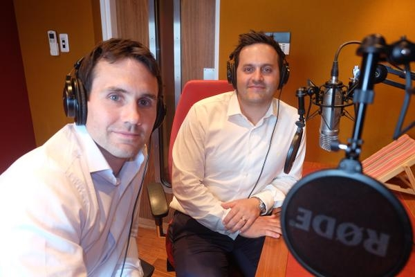 A busy week of talking property for Quanta's Edward and Robby