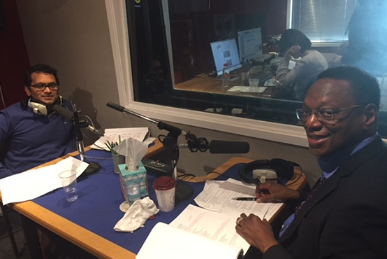 Alvin Hall talking Crowdstacker on Jazz FM