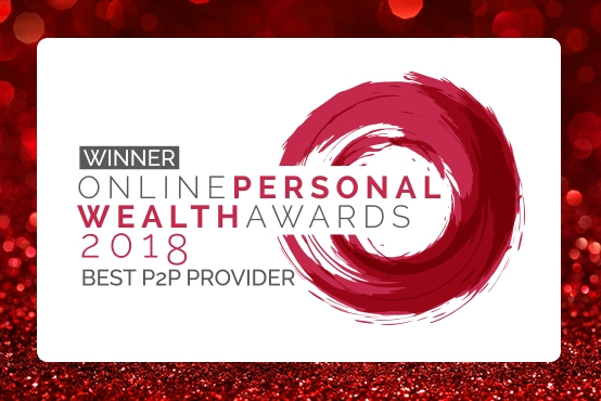 Crowdstacker voted Best P2P Provider in the Online Personal Wealth Awards