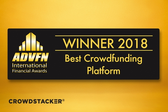 ADFVN has named Crowdstacker Best Crowdfunding Platform 2018