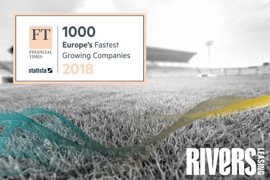 A second year for Rivers Leasing featuring in the FT1000: Europe's Fastest Growing Companies