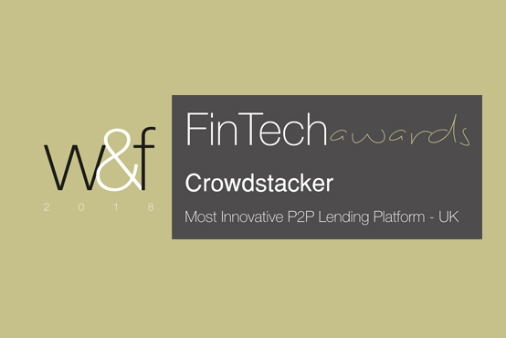 Crowdstacker wins P2P innovation award