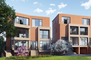 CGI of New Build Properties by LonPro - St Margaret's Avenue, Totteridge, North London