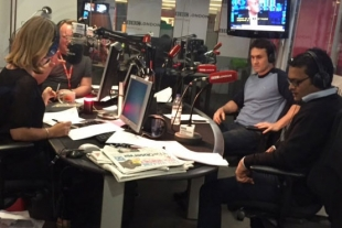 Talking Crowdfunding on BBC London 949