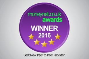 Crowdstacker win Best New Peer to Peer Provider at the Moneynet.co.uk Awards